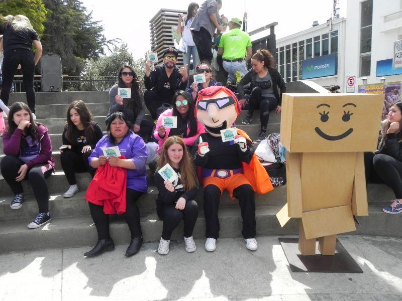 Se despliega Campaña de Verano en Punta Arenas con los personajes SENDAman y Titita