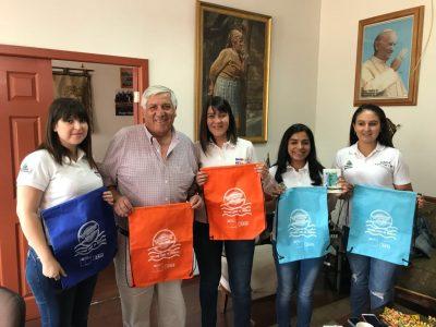 """SENDA Previene Cauquenes inició campaña de verano denominada """"Más conversación, menos riesgo"""""""