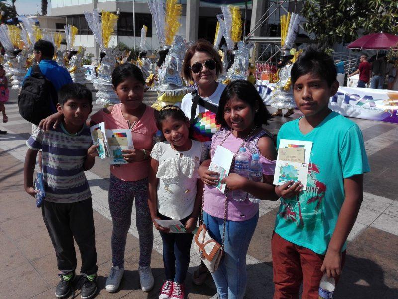 SENDA se hizo presente en Carnaval Andino con la Fuerza del Sol
