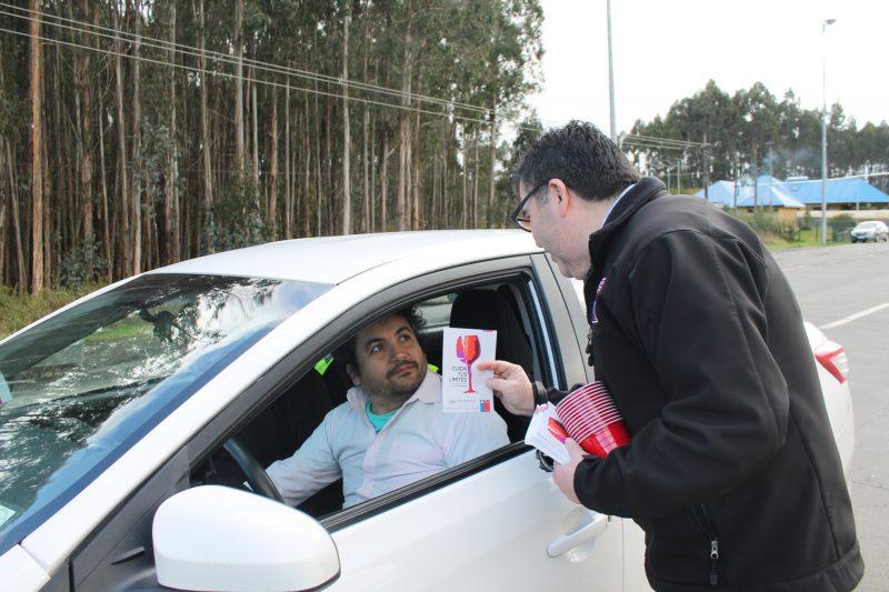Más de 16 mil controles preventivos a conductores realizó SENDA Los Ríos junto a Carabineros durante 2017
