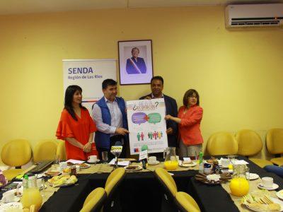 SENDA Los Ríos lanzó afiche informativo de recuperación e informó acciones 2017-2018 del área de Integración Social