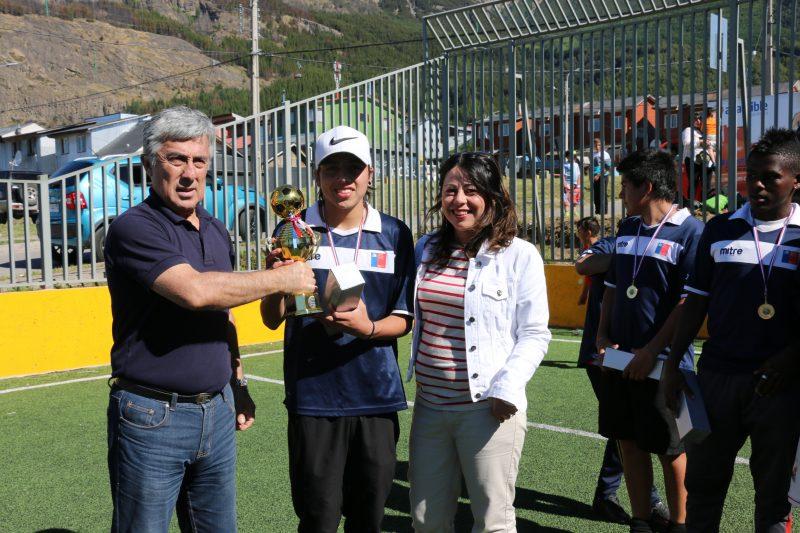 SENDA Aysén Lanza Campaña de Verano en Torneo de Baby Fútbol Interbarrial