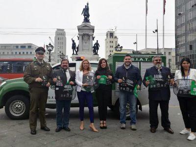 Directora de Senda Valparaíso junto a autoridades regionales hacen llamado a evitar accidentes por alcohol durante celebraciones de fin de año