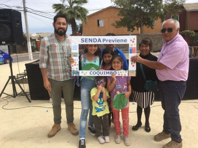 Fiestas familiares preventivas en Coquimbo