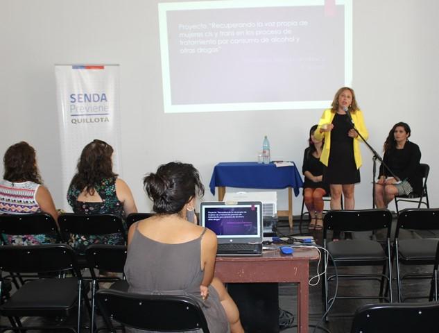 Profesionales y técnicos asistieron a jornada de sensibilización sobre mujeres Cis y Trans con problemas de consumo de alcohol y drogas