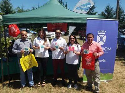 SENDA Previene La Unión difundió campaña de verano en Festival Aéreo del Ranco