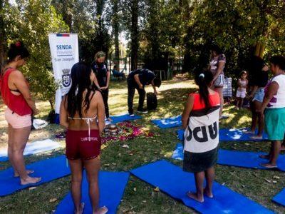 Previene San Joaquín difunde campaña en ferias, piscinas y estaciones de Metro
