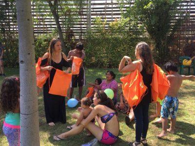 Campaña de verano llega a la piscina municipal de La Reina