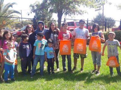 Comunidad de San Pedro recibe mensaje de la campaña «Verano libre de drogas»
