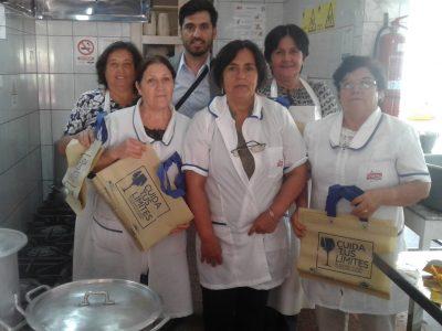 SENDA Previene San Clemente realiza campaña de prevención con manipuladoras de alimentos de la comuna