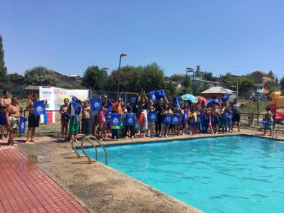 SENDA Previene Río Negro realizó jornada recreativa en piscina municipal