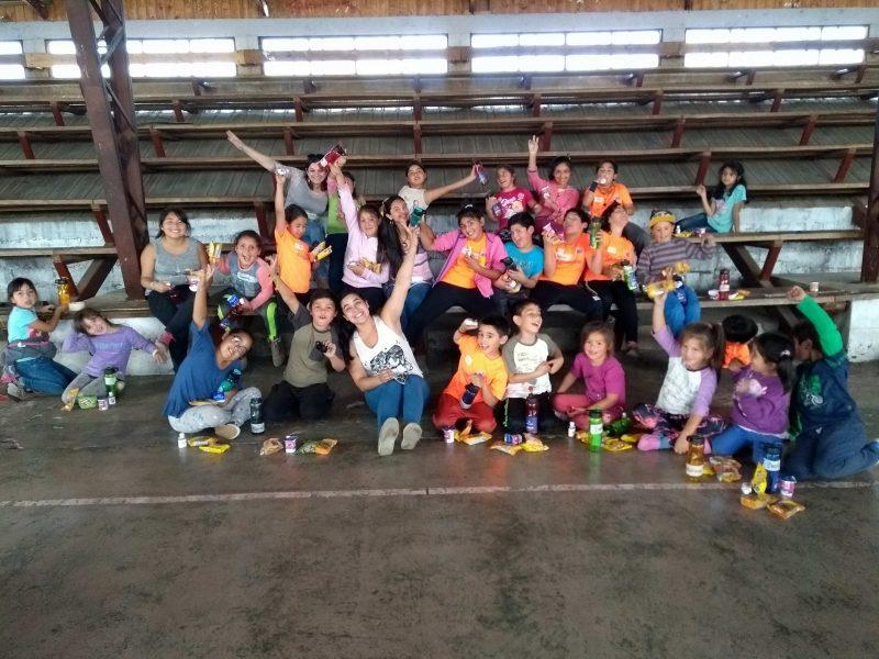 SENDA Previene de Paillaco realizó tarde recreativa junto a niños y niñas de la Escuela de Verano