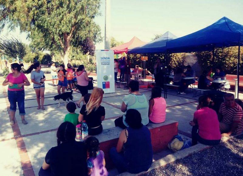 Comunidad del Villorrio Campo Alegre se informa sobre campaña de verano