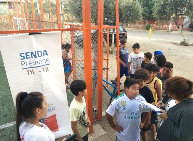 Con campeonato de baby fútbol se difunde campaña de verano