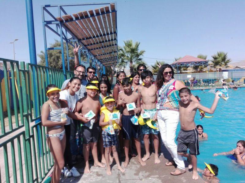SENDA Tarapacá finaliza campaña de verano en la región.