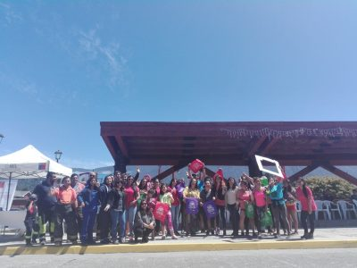 SENDA Previene Hualaihué  hace un llamado a disfrutar el período estival con estilos de vida saludables