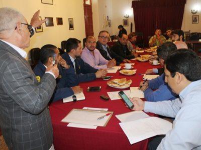 Senda O'Higgins expone en Consejo Comunal de Seguridad Pública  de Malloa