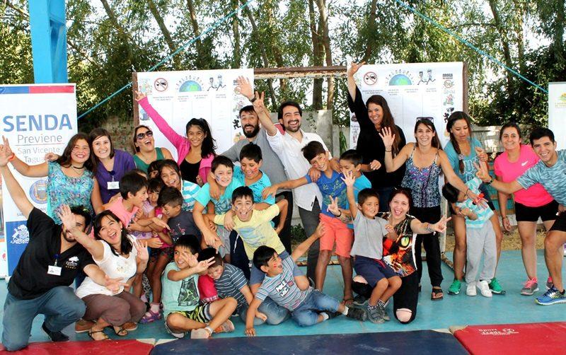 """Campaña """"Un Verano Libre de Drogas"""", siguen las actividades preventivas de SENDA en las comunas de la región."""