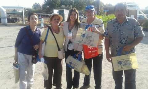SENDA Previene San Clemente realiza campaña de prevención en Expo Pehuenche