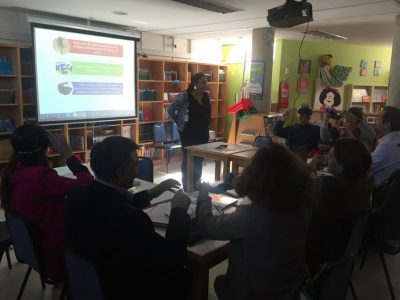 SENDA Previene Vitacura presenta propuesta de trabajo 2018 a establecimientos educacionales