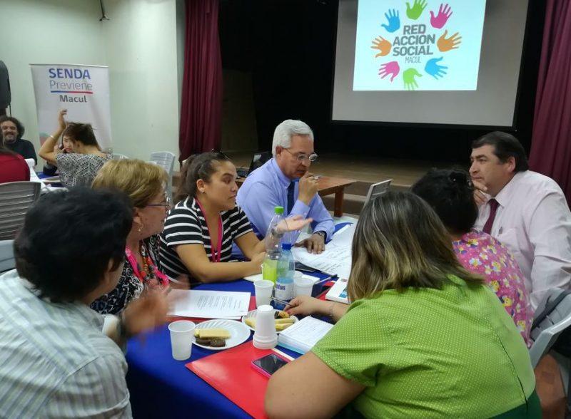 Previene Macul encabeza primera reunión de la Red Comunal de Acción Social