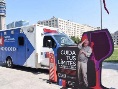 SENDA efectuará alrededor de 500 controles preventivos en la Región Metropolitana durante semana santa