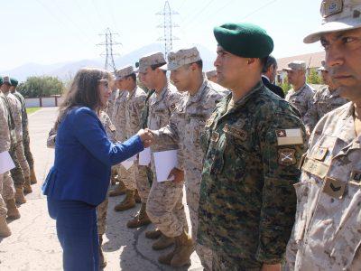 SENDA certifica como monitores preventivos a funcionarios del Ejército