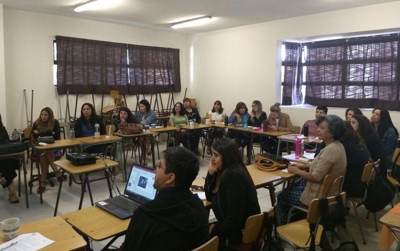SENDA Previene se presenta ante los profesionales de la educación de Renca