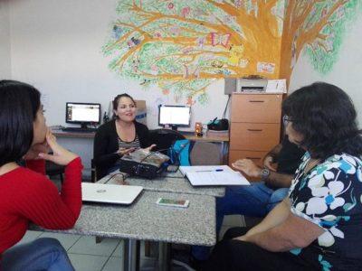 SENDA Previene Huechuraba se reúne con establecimientos educacionales focalizados