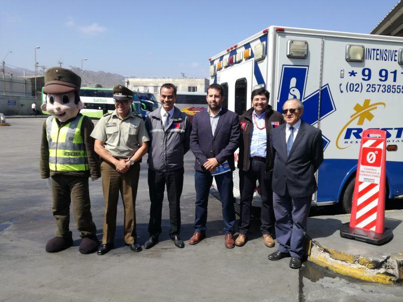 SENDA Antofagasta reforzará controles de alcotest en fin de semana largo