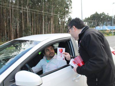 SENDA Los Ríos llama evitar accidentes de tránsito por consumo de alcohol durante fin de semana largo