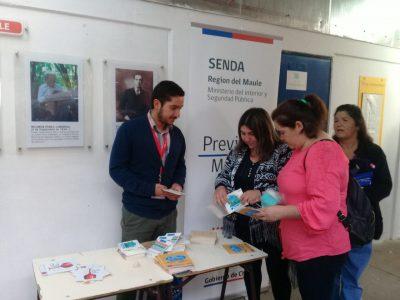 Senda Previene Molina da inicio al año escolar con mensajes preventivos