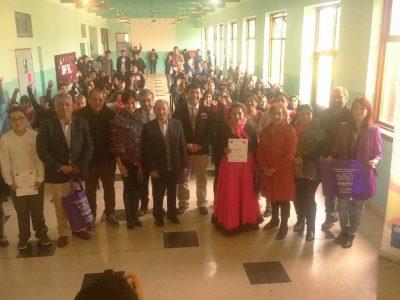 En Escuela Rural de Crucero dieron el vamos al año escolar preventivo de Río Bueno