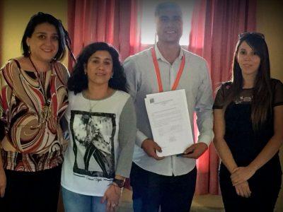 Ocho establecimientos educacionales de Cerro Navia se comprometen a trabajar con SENDA