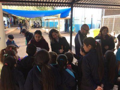 Previene Tiltil implementa Continuo Preventivo en la Escuela Rural de Huechún