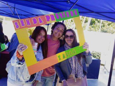 Exitosa bienvenida  realizó el equipo SENDA Previene a mechones de la Universidad de Talca