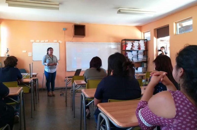 Comienzan las capacitaciones de detección temprana para profesores de Isla de Maipo
