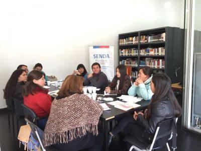 SENDA Previene Licantén lideró segunda reunión junto a red intersectorial