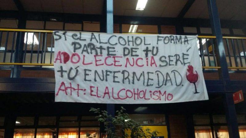 Comunidad educativa del Liceo Tecnológico Mataquito de Curicó está comprometida con la prevención del consumo de alcohol y otras drogas