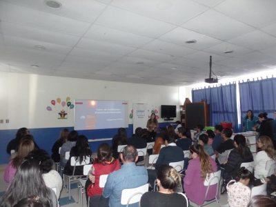Primer taller para padres se realizó por el SENDA Previene Maule en el colegio San Esteban
