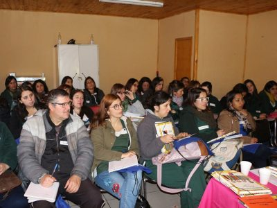 Parvularias de Molina se capacitaron para hacer prevención en jardines infantiles