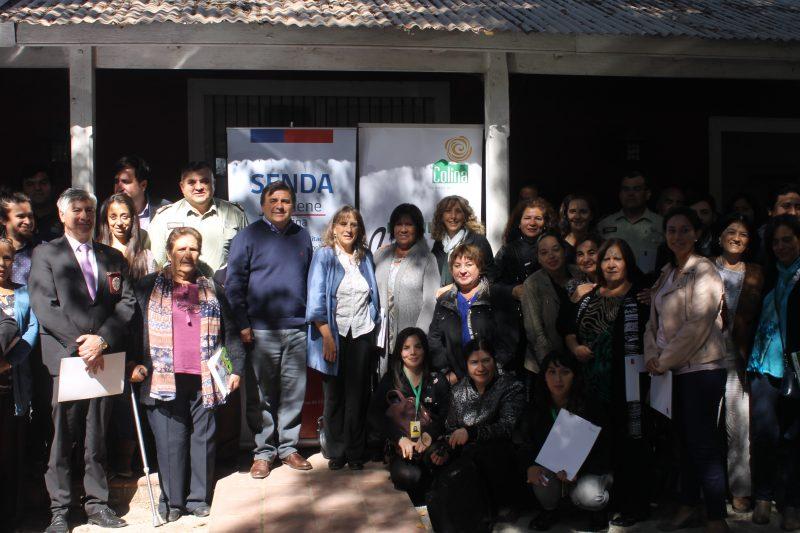 Directora metropolitana de SENDA asiste a primera reunión de la Comisión Comunal de Drogas de Colina