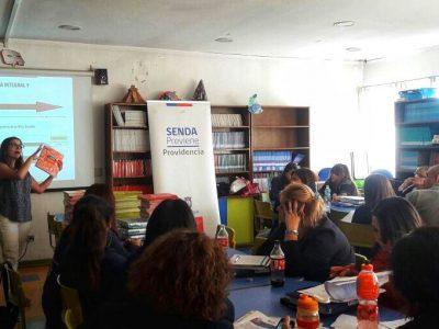 Profesores del Colegio Juan Pablo Duarte de Providencia se capacitan en el Continuo Preventivo
