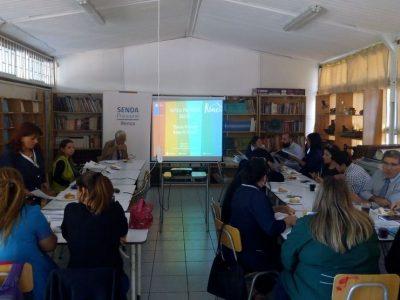 Previene Renca trabaja con comunidad escolar de la Escuela Monserrat Robert de García