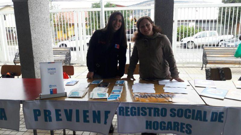 SENDA Previene Talca participa de la plaza ciudadana  de Red Chile Crece Contigo