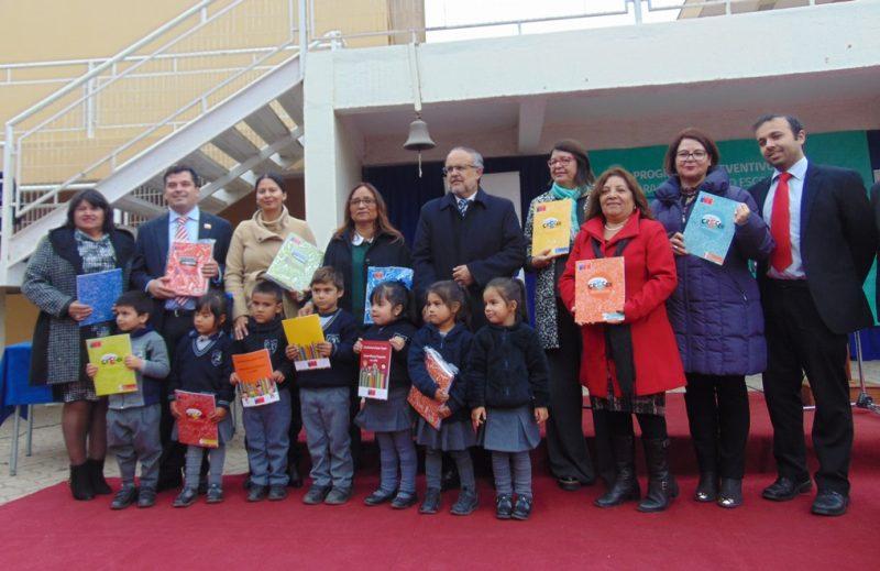 En colegio de Coquimbo lanzan el año escolar preventivo