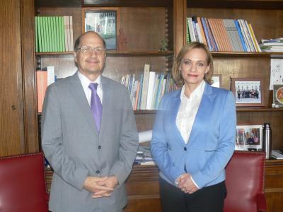 Director de SENDA sostiene reunión de trabajo con senadora Carolina Goic