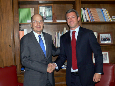 Director de SENDA sostuvo reunión protocolar con nuevo secretario ejecutivo de Conaset