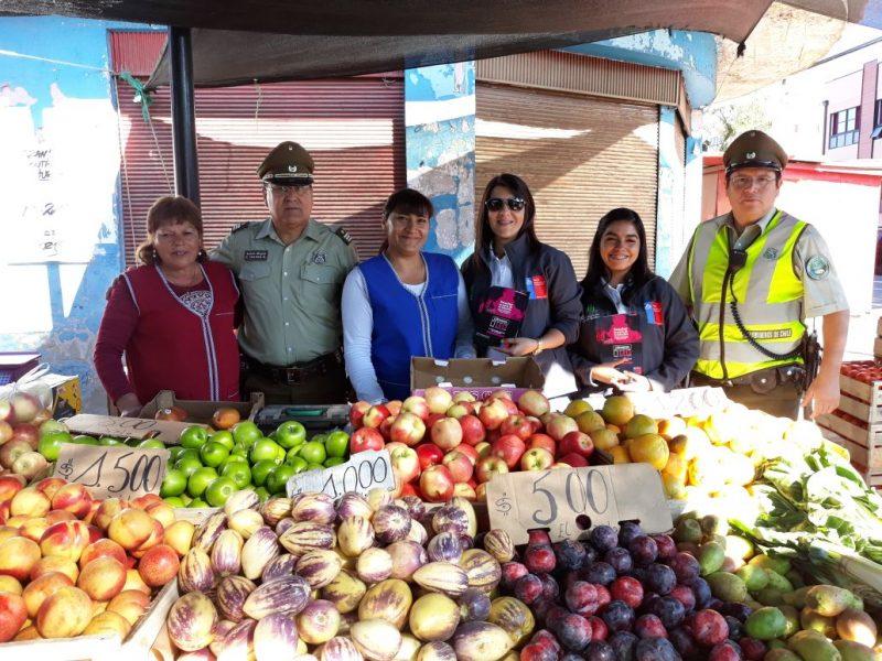 SENDA Previene Cauquenes junto a Carabineros de Chile realizó Campaña Preventiva previo Semana Santa