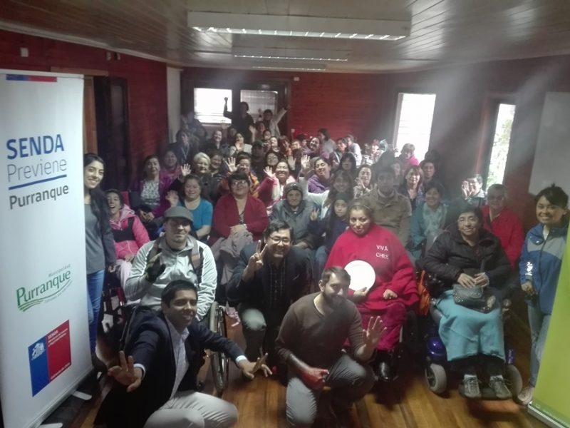 Con 50 vecinos y vecinas dieron el vamos a Taller Preventivo de Pintura en Loza en Purranque